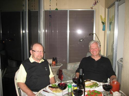 Dinner on the Lanai