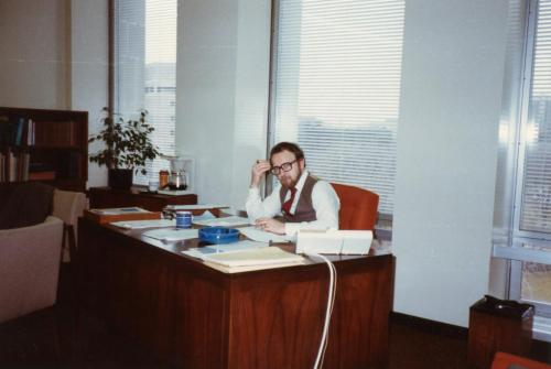 Henk at work 1